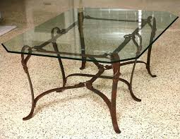 wrought iron coffee table wrought iron table legs wrought iron coffee table with glass top rustic