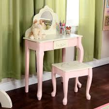 Mirror For Girls Bedroom Fantasy Fields Bouquet Girls Oval Mirror Bedroom Vanity Stool
