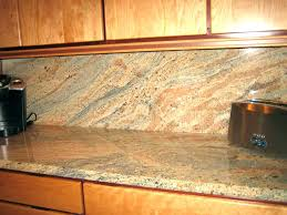 Tile Backsplashes With Granite Countertops Mesmerizing Backsplash With Granite Countertops Subway Tile Idea Backsplash
