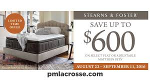 Labor Day Sale  PM Sleep Center  Stearns u0026 Foster Mattresses