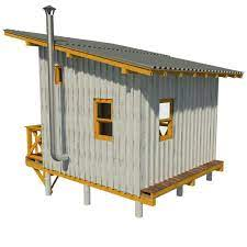 elevated cabin plans virginia tiny