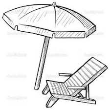 Small Picture Beach Chair Coloring Pages Image Mag