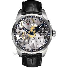 men s tissot chemin des tourelles squelette mechanical watch mens tissot chemin des tourelles squelette mechanical watch t0704051641100