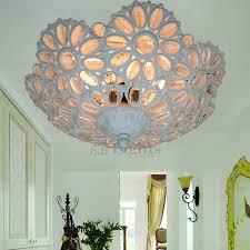 semi flush mount modern ceiling lights wrought iron fixture