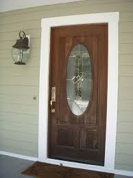 front door trimTime to Update the Front Door TrimBut How  The Inspired Housewife