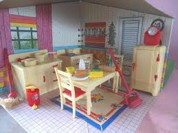 plastic dollhouse furniture sets. Notice The Mop? This Setting Is Showing A Nice Garbage Can; Foot Pedal And Lid Should Work. Also Carpet Sweeper Vs. Plastic Dollhouse Furniture Sets E