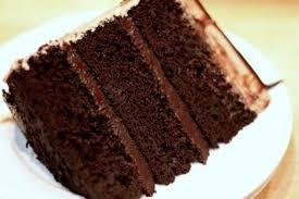 chocolate fudge cake slice.  Chocolate Slice Of Dark Chocolate Fudge 3 Layer Cakejpg In Cake Slice E