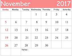 printable calendar november 2017 philippines free design and