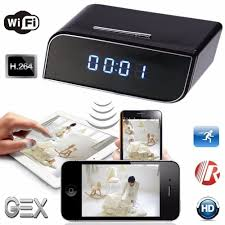 best gex wifi alarm clock h 264 p2p security cam motion