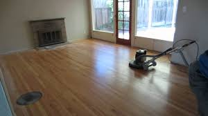 buffing hardwood floors by hand
