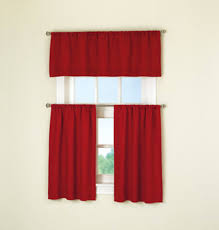 Red Curtains For Kitchen Kitchen Magnificent Walmart Kitchen Curtains For Decor Curtains