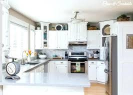quartz kitchen countertops white cabinets. White And Grey Quartz Countertops Light Kitchen Cabinets