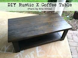 dyi coffee table rustic x coffee table diy coffee table makeover ideas