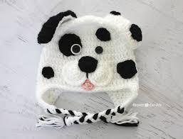 Crochet Dog Hat Pattern Fascinating Crochet Dalmatian Dog Pattern Repeat Crafter Me
