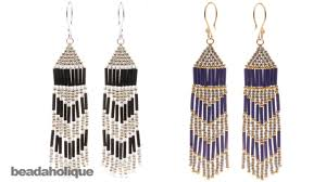 Beaded Earring Patterns For Beginners Simple Decoration