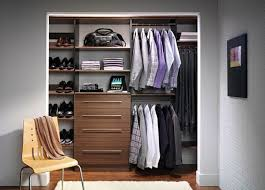 walk in closet ideas for men. Walk In Closet Design For Modern Stylish Man With Wooden Chair Furniture And White Brick Wall Also Wood Floor Laminate Shag Area Rug Ideas Men