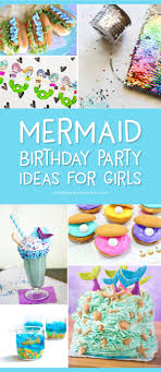 Diy Party Printables The Prettiest Mermaid Party Ideas Ever