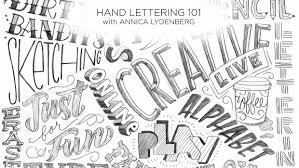 hand lettering for beginners a guide