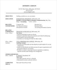 Tax Accountant Resume Beauteous 48 Accountant Resume Design Templates PDF DOC Free Premium