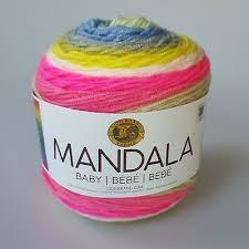 Lion Brand Homespun Yarn Color Chart Lion Brand Mandala Baby Bebe Yarn Cake Far Far Away 204 Dk