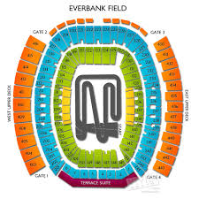 Everbank Field Seating Chart For Florida Georgia Monster Jam 2018 Jacksonville Fl Print Discount