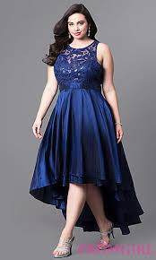 ball gown for plus size illusion lace high low plus size prom dress promgirl