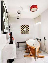 Apartment Bathroom Designs Magnificent Parisian Designers Didier Gomez And Clémence Krzentowski Design A