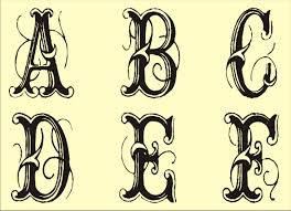 best photos of free printable fancy alphabet letters templates collection of solutions best letter stencils