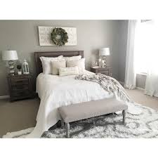 grey bedroom white furniture. Master Bedroom Color/decor Idea. Furniture, Lighting And Set Up Are Very Similar To Ours. :: See This Instagram Photo By @kristieh14 Grey White Furniture
