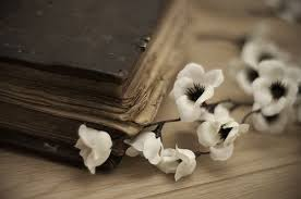 old books with flowers book flower flowers old pretty