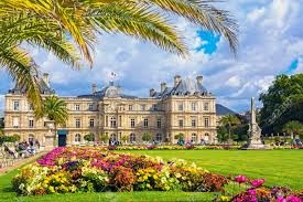 palace in the luxembourg gardens paris france stock photo 31187692