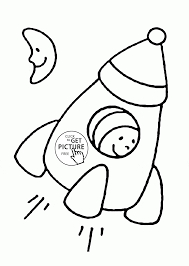 Color the pages with them and that is also called a mother and child bonding. Simple Rocket Coloring Page For Toddlers Transportation Coloring Pages Printables Free Wu Shape Coloring Pages Printable Coloring Pages Space Coloring Pages