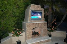 stacked stone outdoor fireplace pictures mirage kits prefab exterior stone fireplace outdoor designs pictures kits