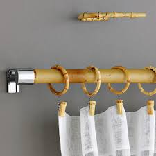 Bamboo Shower Curtain Rods