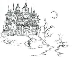 Coloriage Chateau Hant Dessinsysteme Download
