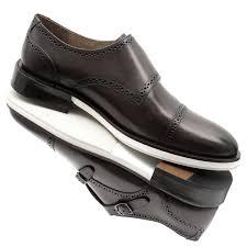 Sapato Monk Strap em Couro 002301 Moss | Outlet do Sapato