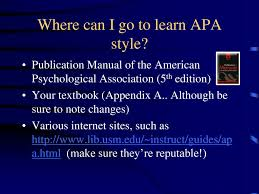 Your Guide To The Magic And Mystery Of Apa Style Ppt Download