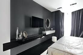 modern bedroom with tv. Plain Bedroom Tv On Wall In Bedroom Inside Modern Bedroom With Tv