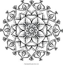 21 Free Printable Flower Mandala Coloring Pages Pdf Coloring Contest