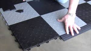 Interlocking Kitchen Floor Tiles Interlocking Floor Tiles Installing Youtube