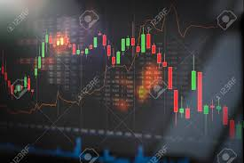 Stock Investment Chart Stock Market Trading Graph Investment Candlestick Chart Financial
