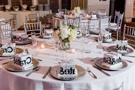 centerpieces for round tables including wedding reception table trends images yuorphotocom