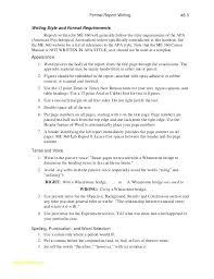 Formal Report Template Dazzleshots Info