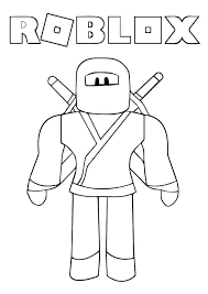 So we decided to come up with a small, but beautiful collection of free printable roblox coloring pages. Roblox Ninja Coloring Page Coloringwithkids Com
