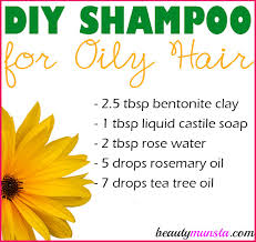 got flat and greasy locks make this homemade shampoo for oily hair it contains