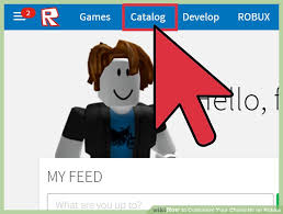 How To Create An Outfit On Roblox How To Customize Your Character On Roblox 8 Steps With