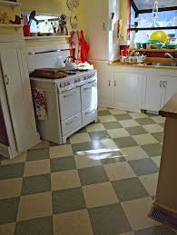 Checkerboard Kitchen Floor Retro Kitchen Floor Tile Winda 7 Furniture