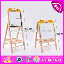 Good Quality Wooden Painting Board Stand For Kids Double Sided Adjustable Flip Chart Painting Board Stand W12b086 Buy Painting Board Painting