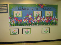 christian spring bulletin board early childhood education hand  christian spring bulletin board early childhood education hand and foot prints art class