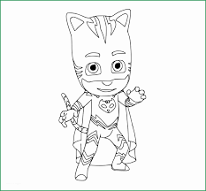 Pj Mask Coloring Pages New Pj Masks Coloring Pages To And Print For
